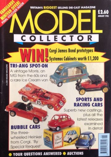ORIGINAL MODEL COLLECTOR MAGAZINE January 1998